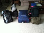 Luggage for this trip