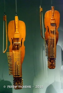Musical instruments at Museet