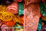 Yarn display at Nordiska Museet