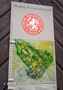 Norsk Folkemuseum Map