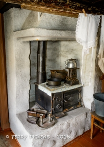 Norsk Folkemuseum - Home cooking fireplace