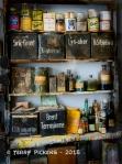 Norsk Folkemuseum paint shop shelf