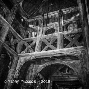 Stave Church - Interior