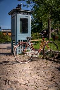 Bike at Telephone Booth