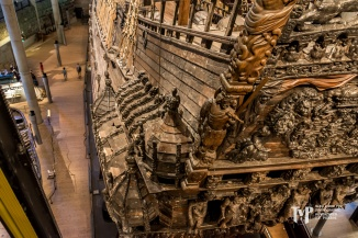 Vasa Sailing Ship Carving on stern