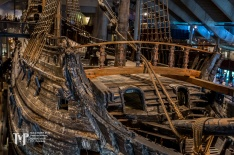 Vasa Sailing Ship Fore Deck and rigging