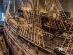 Vasa Sailing Ship Aft Deck and rigging