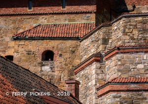 Castle Wall at Akershus Slott