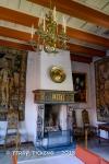 Fireplace at Akershus Slott