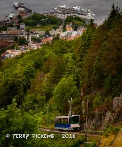 Funicular at Bergen