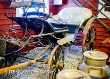Wagon from Flam RR Museum
