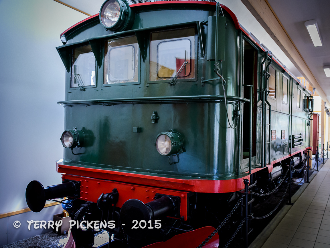 Train at Flam RR Museeum