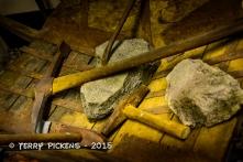 Tools in Flam Rail Museum