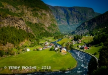 Valley Community along Flam RR