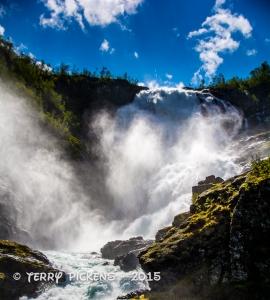 Kjosfossen Falls