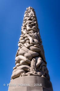 Monolith Sculture at Frogner PArk