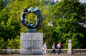 Circle of Life sculpture at Frogner Park