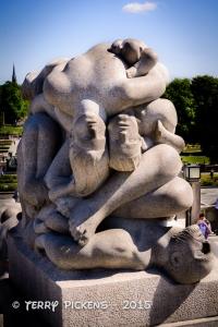Vigeland Sculpture at Frogner Park