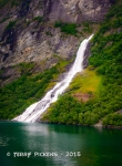 Geiranger Fjord waterfall