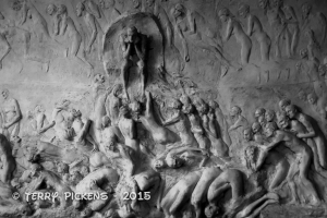 Purgatory and the Devil at Vigeland Museum
