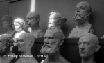 Study Busts at Vigeland Museum