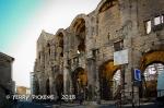 Arles Roman coliseum.