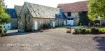 Our Bayeux B&B farm courtyard