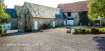 Our Bayeux B&B farm courtyard