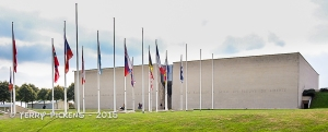 Caen WWII Museum exterior