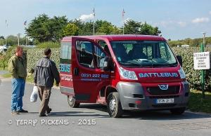 BattleBus Tour Bus