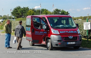 BattleBus Tour Bus