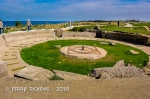 Pointe Du Hoc - gun emplacement