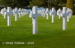 American Cemetery grave markers