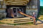 Longes Sur Mer German Battery gun