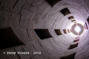 Chambord, Chateau Stair shaft