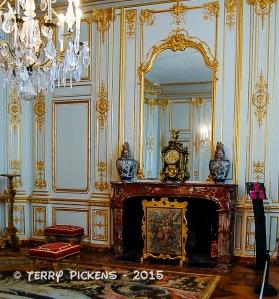 Chambord Chateau Fireplace