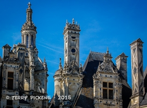 Chambord Chateau Rooftop