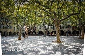 Uzes Main Square