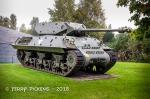 American Sherman Tank from WWII