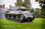 American Sherman Tank from WWII