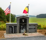 101st Airborne Memorial outside Bastogne