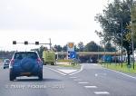 Highway gas stop