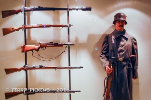 German Soldier and field weapons