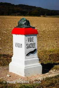 Verdun road monument