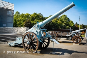 WWI cannon