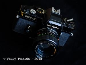 Minolta XE7 Film Camera circa 1973