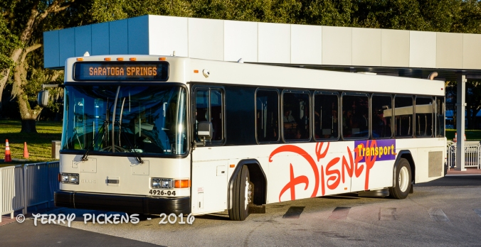 DIsney World Bus Transportation