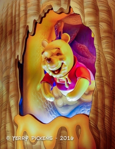 Pooh and his honey