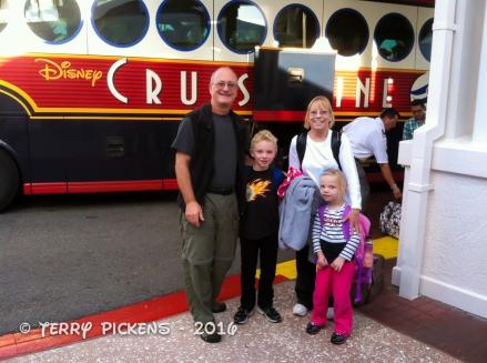 DisneyWorld arrival