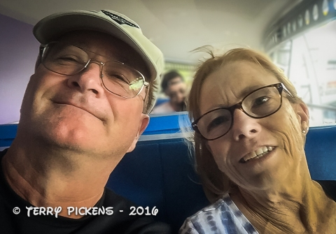 2016 Disney World our last picture together on the People Mover